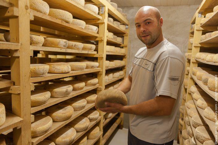 Photographe portrait agriculteur éleveur formage Bruno Gouhoury