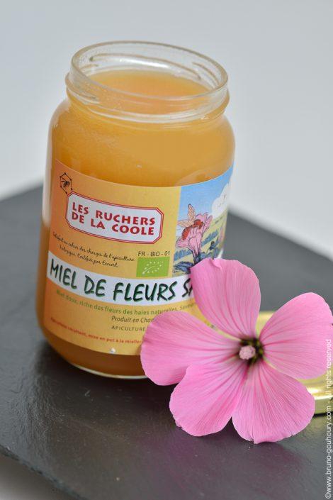 Photographe produits agricoles miel apiculture apiculteur Bruno Gouhoury
