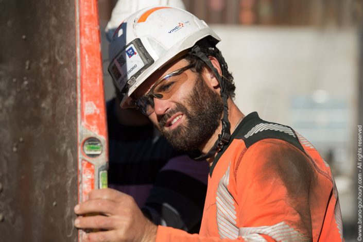 photographe reportage corporate travaux construction vinci