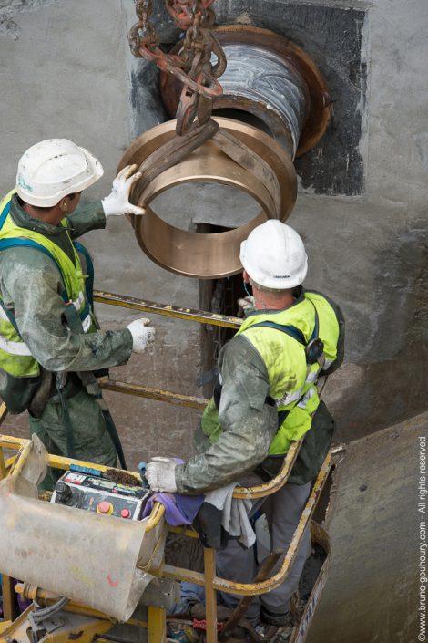 photographe travaux construction barrage vinci