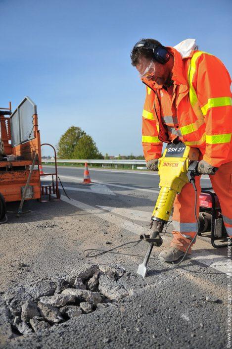 photographe travaux publics autoroutes Dir Nord